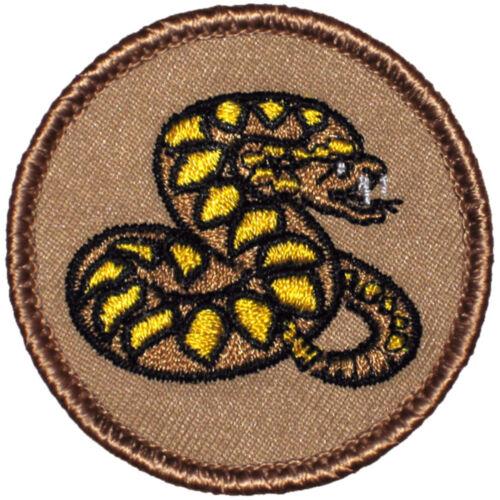 Cool Boy Scout Patch - Striking Viper Patrol! (#331)