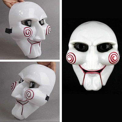 Saw Halloween Mask Head Creepy Scary Costumes Horror For Cosplay Affordable Nice](Affordable Cosplay Costumes)