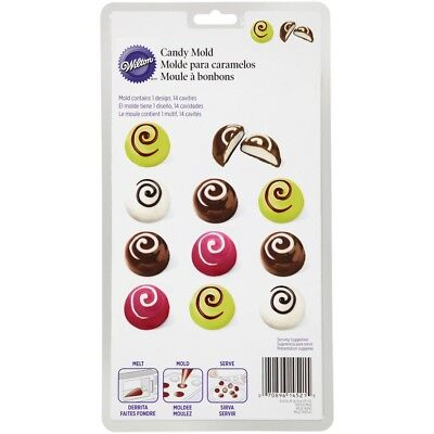 Wilton Christmas Truffle Cherry 14 Cavity Candy Melts Mold
