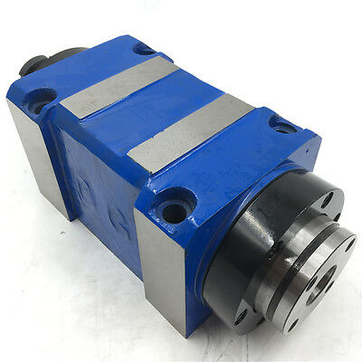 Spindle Unit Mt3 Power Head 8000rpm 4bearings With Drawbar Cnc Router