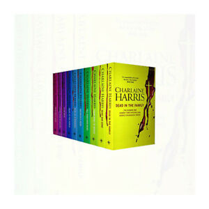 True Blood Box Gift Set Sookie Stackhouse 10 Book Charlaine Harris Paperback NEW