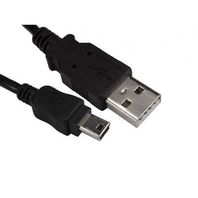2m USB 2.0 Type A Male to Mini B Male Data Cable...