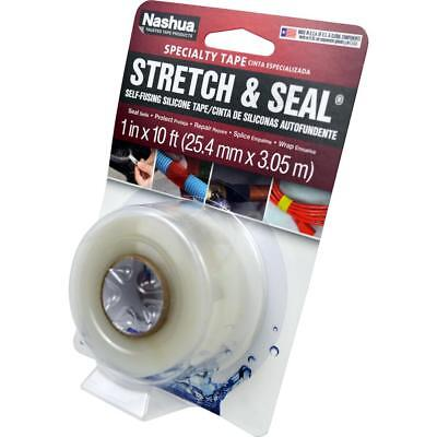 Nashua Stretch Seal Self Fusing Silicone Tape 1 In. X 10 Ft. Clear