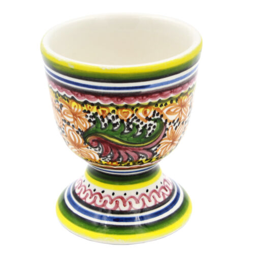Coimbra Ceramics Hand-painted Decorative Egg Cup XV Cent Recreation #120-1