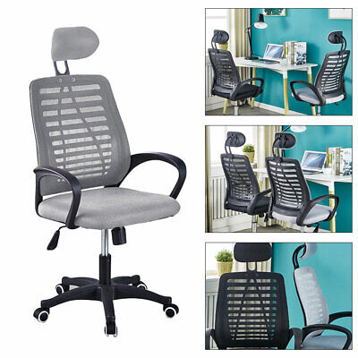 Office Desk Computer Chair Gaming Racing Mesh 360 Adjustable Lumbar Support Sit