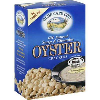 Olde Cape Cod-Trans Fat Free Oyster Crackers (3-8 oz boxes)