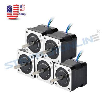 15x Stepper Motor Nema 17 64oz.in 40mm 2a 4-wire W 1m Cable For Diy 3d Printer