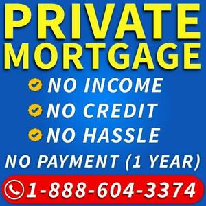 Private Mortgage Ontario - Private Lender - 2nd Mortgage / Second Mortgage - Bad Credit Mortgage 1-888-604-3374