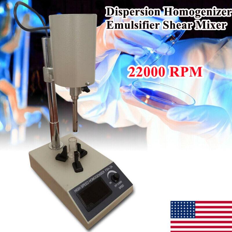 High-Speed Lab Dispersion Homogenizer Emulsifier Shear Mixer Machine 22000rpm