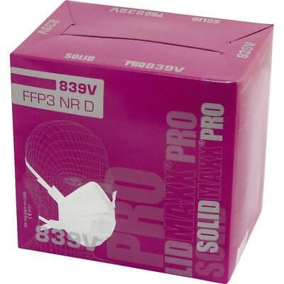L+D Upixx 26184 Feinstaubmaske mit Ventil FFP3 D 10 St. DIN EN 149:2001, DIN EN