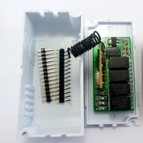 DC 5V 6V 9V 12V EV1527 PT2262 Decode Relay Module RF Receiver Arduino DUE UNO