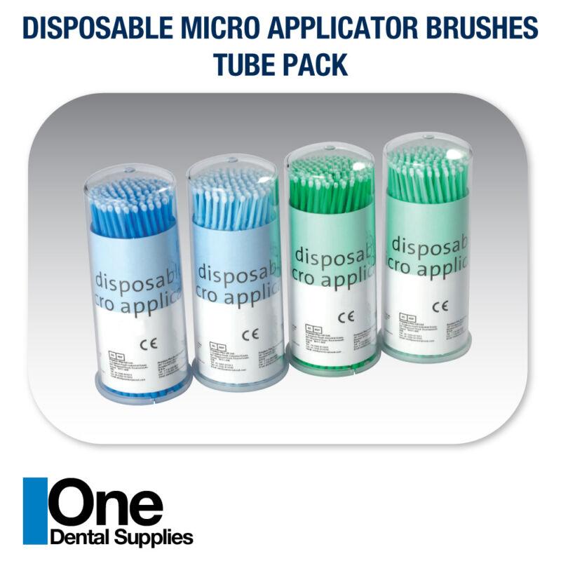 Dental Disposable Micro Applicator Regular Brushes  Tube Pack 2000 pcs