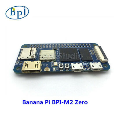 Allwinner H2+ Banana pi BPI-M2 Zero quad core singel-board computer Support WIFI Core 2 Quad Support