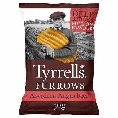 Tyrrells Furrows Aberdeen Angus Crisps 50G