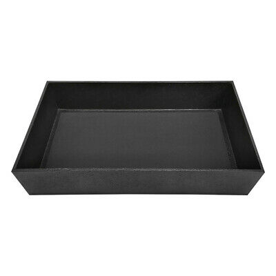 Jewelry Earrings Necklaces Tray Black Showcase 3 Inch Height