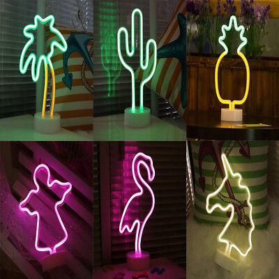 LED Hintergrund Neonröhre Nachtlicht Raum Party Hochzeit Tischdekoration