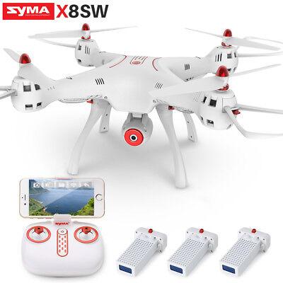 Pro Drone SYMA X8SW RC Quadcopter FPV HD Wifi Camera Live Record Fixed High UK