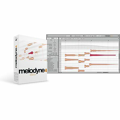 Celemony Melodyne 4 Plug-in/Uno to EDITOR UPGRADE Pitch & Time Shifting Software ()
