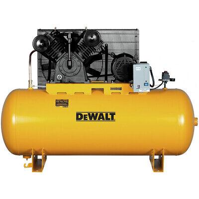 Dewalt 10 Hp 120 Gallon Baldor Oil-lube Air Compressor Dxcmh9919910 New