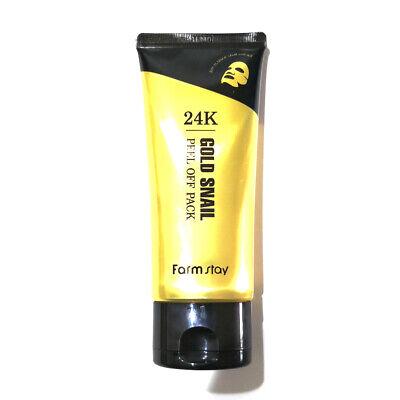FARM STAY 24K Gold Snail Peel Off Pack - 100g + Gift