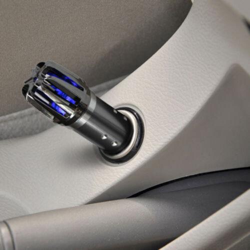 12V Portable Mini Auto Car Fresh Air Ionic Purifier Oxygen Bar Ionizer Cleaner