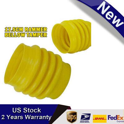 Yellow Rammer Bellow Tamper For Wacker Rammer Compactor Tamper Polyurethane New