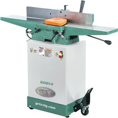 Grizzly G0814 6 X 48 Jointer With Cabinet Stand
