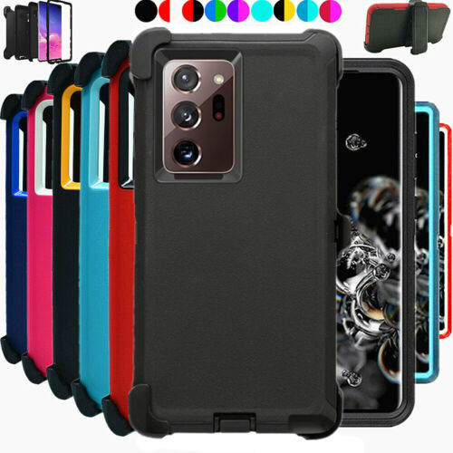 For Samsung Galaxy Note 20 / 20 Ultra Defender Case with Clip Fits Otterbox