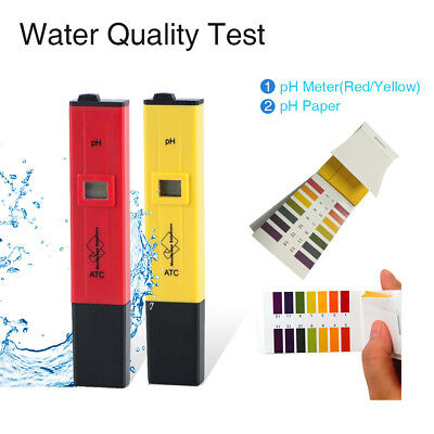 Digital PH Meter Tester Pocket Portable Pool Water Aquarium Hydroponic Wine (Best Digital Ph Meter)