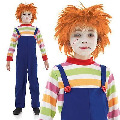 ume - Boys & Girls Halloween Chuckie Chucky Childs Play (Chuckie Kostüme)