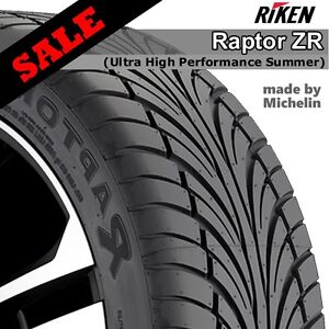RIKEN tire SALE - made by Michelin brand - limited stock