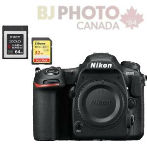 BRAND NEW! NIKON D500 DX CAMERA BODY BUNDLE