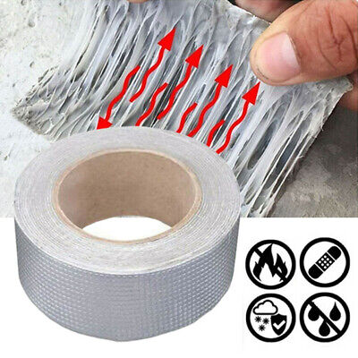 Waterproof Tape Super Strong Butyl Seal Rubber Aluminum Foil Tape 1mmx50mmx5M