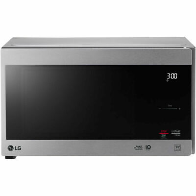 LG NeoChef Stainless Steel 0.9 Cubic Feet Microwave (Certified Refurbished)