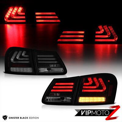 """SINISTER BLACK"" 2006-2011 LEXUS GS300 GS350 GS430 OLED Neon Tube Tail Light 4PC"