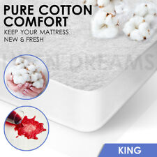 King Size Fully Fitted Waterproof Mattress Protector