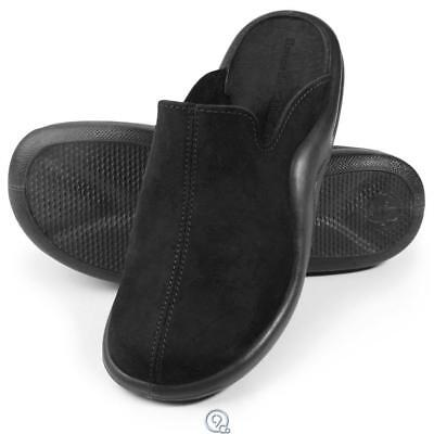 The Mens Walk On Air Indoor Outdoor Slippers Shoes Black 11-11.5 - Mens Casual Slip Ons