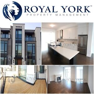 4 BED/4 BATH-UPGRADED TOWNHOME FOR RENT @ VAUGHAN | CARRVILLE