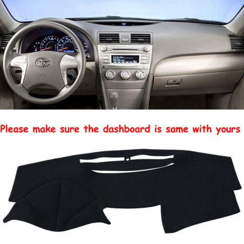 Clidr Custom Fit Dashboard Carpet Dash Protector Dash Mat Sun Protection Cover Fit for Toyota Camry 2007-2011