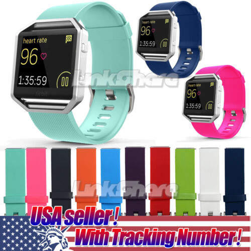US For Fitbit Blaze Watch Replaces Silicone Rubber Band Spor