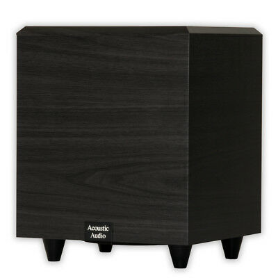 "Acoustic Audio PSW-6 Home Theater Powered 6.5"" Subwoofer 250"