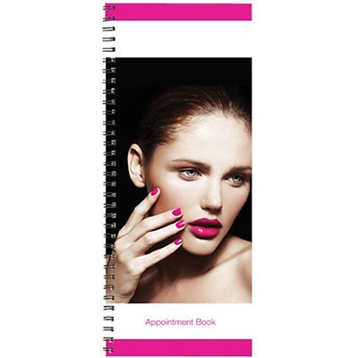 BURMAX Salon Beauty Hair DL Pro 2 Column Appointment Book BK-DLC202