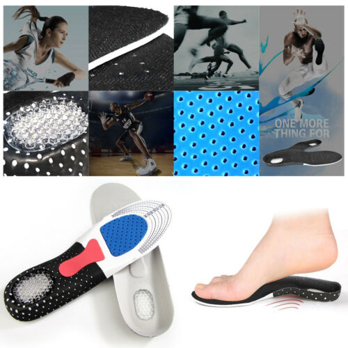 1x Orthotic Arch Support Sport Running Gel Cushion Heel Shoe