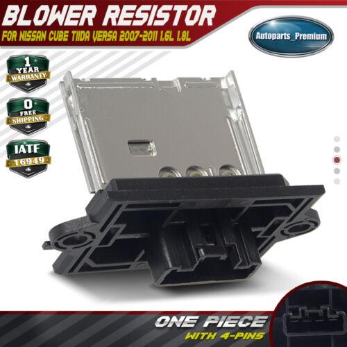 Blower Motor Resistor for Nissan Versa 2007 2008 2009 2010 2011 Cube Tiida 1.8L