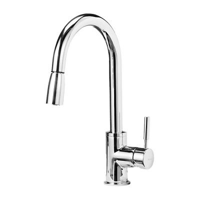 Blanco Chrome Spray Faucet - Blanco 441646 Sonoma Kitchen Faucet with Pull Down Spray, Small, Chrome