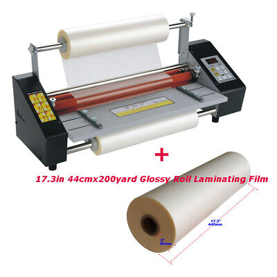 Intbuying 17.3in A2 High Speed Hot Cold Roll Laminator Machine