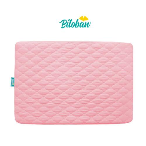 "Pack N Play Playard Waterproof Baby Crib Mattress Pad Cover Soft 39"" x 27"" Pink"