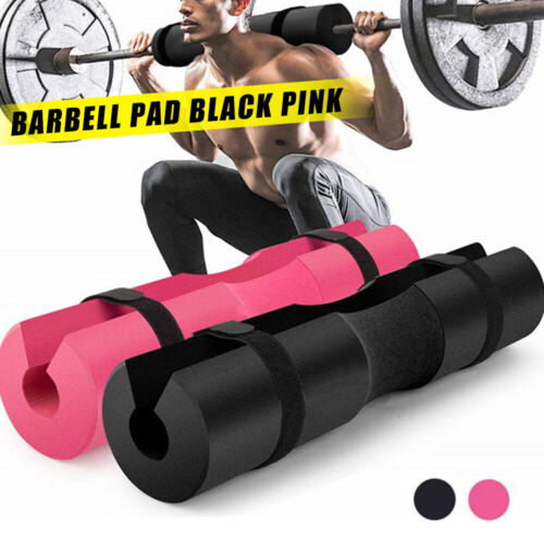Barbell Pad Squat Foam Sponge Cover Weight Lifting Pull Up Neck Shoulder Protect