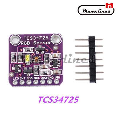 Tcs34725 Rgb Light Color Sensor Recognition Module Developement Board F Arduino