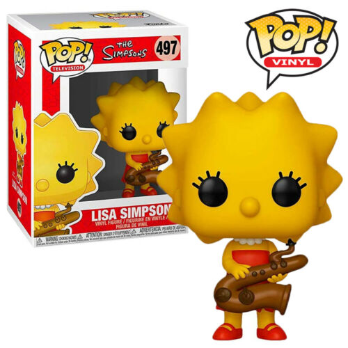 Lisa Simpson with Saxophone Official Simpsons Homer Funko Pop Vinyl Figure